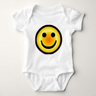 Smiley Too Baby Bodysuit