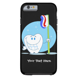 Smiley Tooth (customizable) Tough iPhone 6 Case