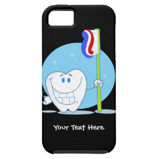 Smiley Tooth (customizable) iPhone 5 Cases