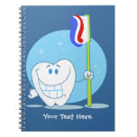 Smiley Tooth (customizable) Note Books