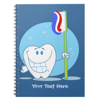 Smiley Tooth (customizable) Notebook