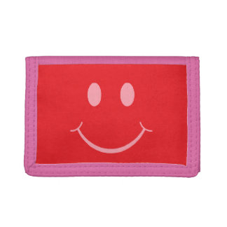 Smiley Trifold Wallets
