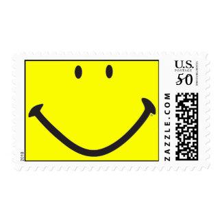 """Smiley Unbound"" Postage Stamp"