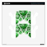 Smiley verde mando PS3 skin