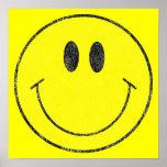Smiley Vintage Poster