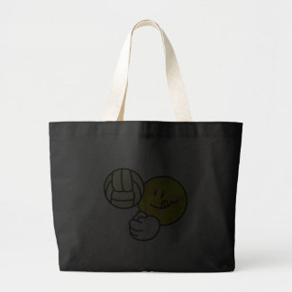 Smiley Volleyball Tote Bags