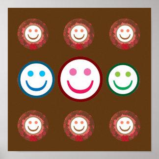 SMILEY : Wear a SMILE n create a HAPPY AURA Print