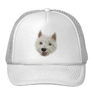 Smiley Westie Trucker Hat