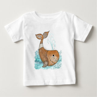 Smiley whale baby T-Shirt