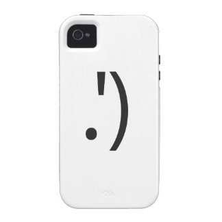 smiley wink ai vibe iPhone 4 cover