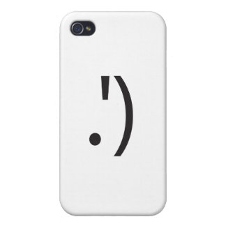 smiley wink ai iPhone 4/4S cases