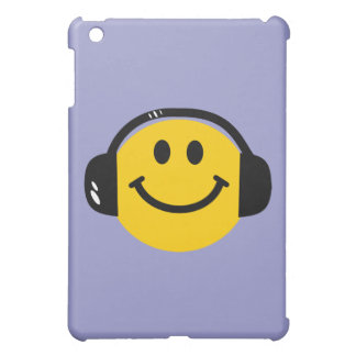 Smiley with headphones case for the iPad mini