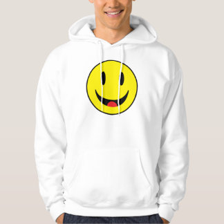 Smiley With Tongue Hoodie