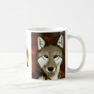 Smiley Wolf Coffee Mug