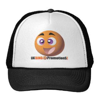 Smiley y logotipo BRITÁNICOS de las promociones de Gorro