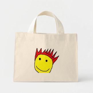Smileyface Bolsa Tela Pequeña