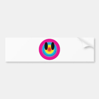 smileyface bumper sticker
