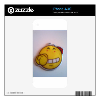 smileyface decal for iPhone 4