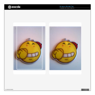 smileyface kindle fire skin
