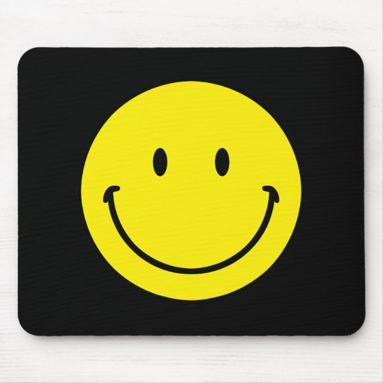 Smileyface Mouse Pad