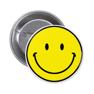 Smileyface Pinback Button