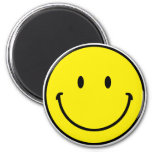 Smileyface Refrigerator Magnets