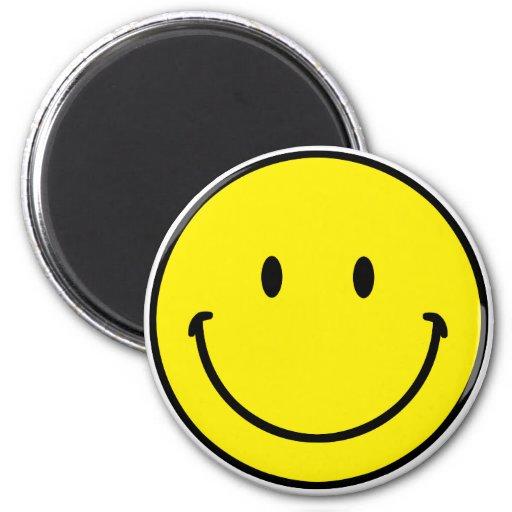 Smileyface Refrigerator Magnets