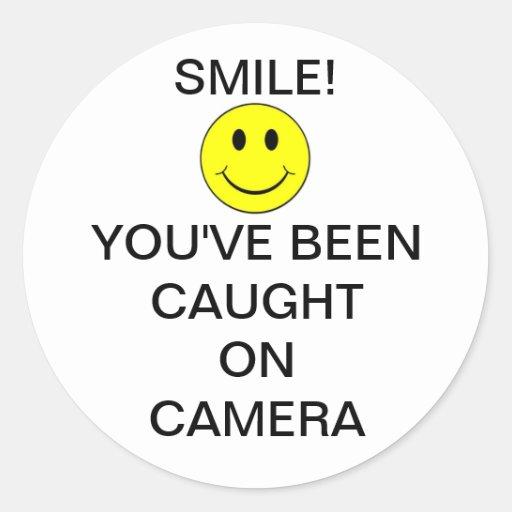 SmileyFaceBurglarCam Stickers