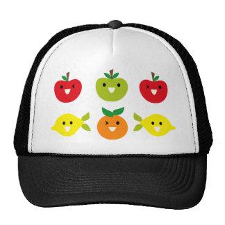 SmileyFruitMix3 Hat