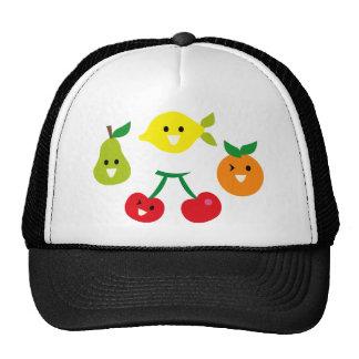 SmileyFruitMix4 Mesh Hats