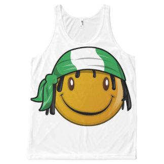 Smileys All-Over Print Tank Top