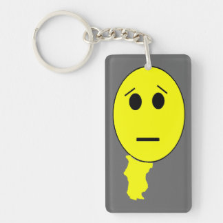 Smiley's Bad Day Acrylic Keychains