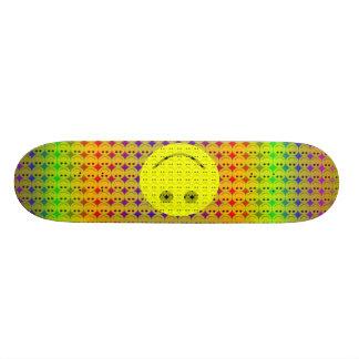 smileys, smileyface- skate board