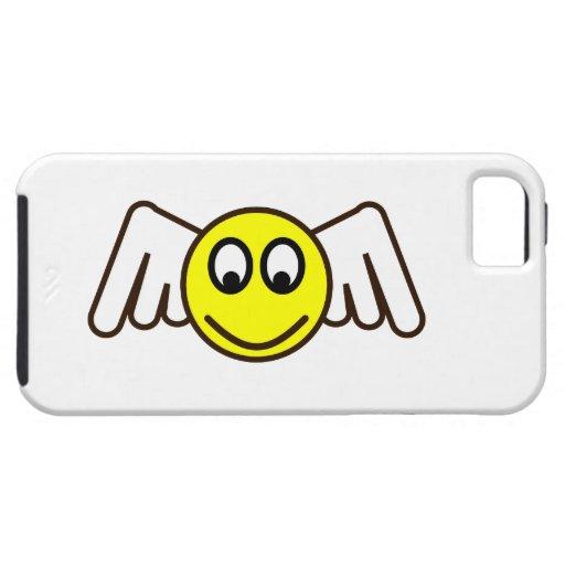 Smilie ángel smiley angel iPhone 5 cárcasas