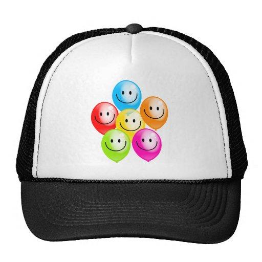Smilie Balloons Trucker Hat