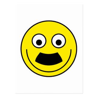 Smilie bigote smiley moustache tarjetas postales