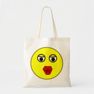 Smilie Bussi kiss smiley kiss Tote Bag
