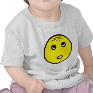 smilie con fisuras cracked camisetas