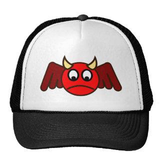 Smilie depths smiley devil trucker hat