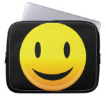Smilie Face Happy Laptop Sleeves