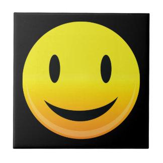 Smilie Face Happy Tile