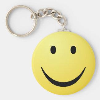Smilie Face Keychain