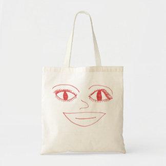 """""""SMILIE FACE"""" tote-bag Tote Bag"""