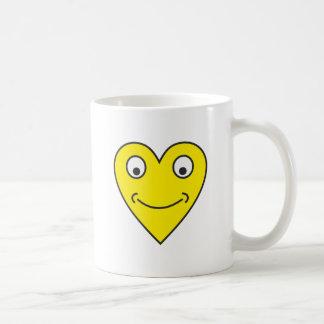 Smilie heart smilie heart coffee mugs