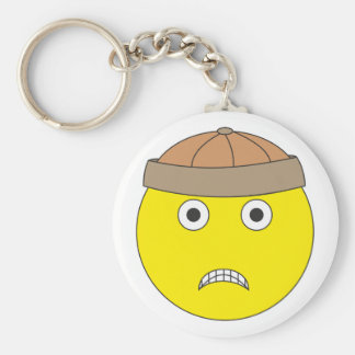 smilie Hun Hun Basic Round Button Keychain