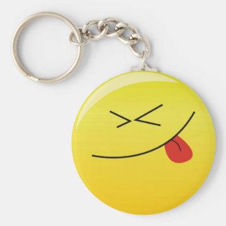 Smilie:) Llavero Redondo Tipo Pin