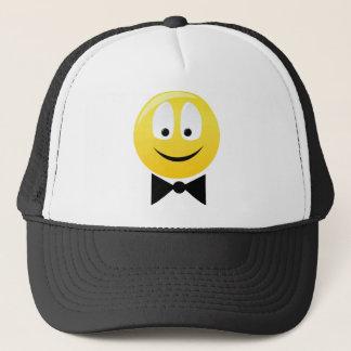 Smilie smartie pants trucker hat