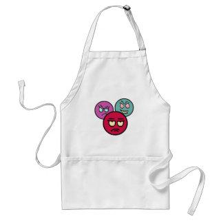 Smilie smiley gang course apron