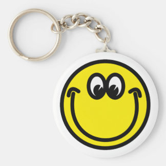Smilie smiley keychain