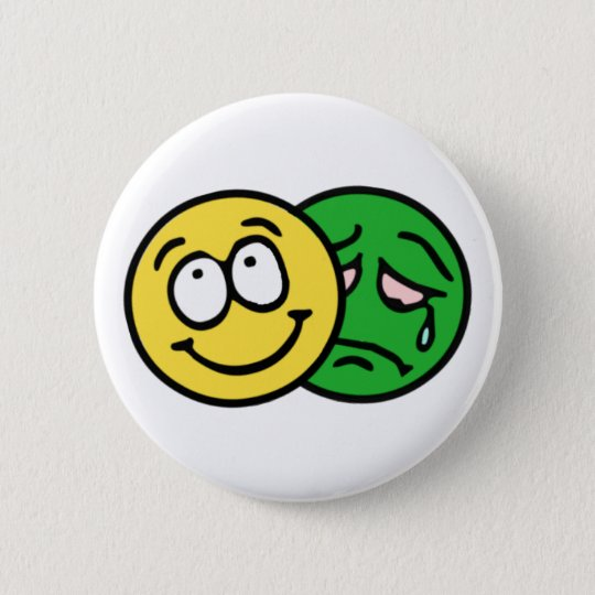 Smilie smiley theatre comedy tragedy button